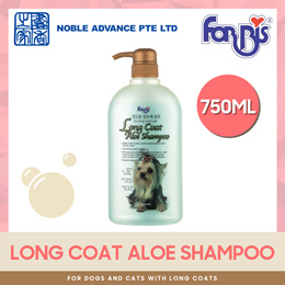 [FORBIS] Long Coat Aloe Shampoo 750ml. For Dogs and Cats with Long Coats.
