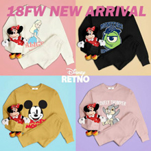 [RETNO x HOWRU] 💖18FW Disney Authentic Long Sleeves T-Shirt💖 FLAT PRICE / Sweatshirts / Travel