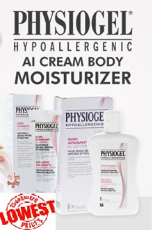 **BEST PRICE in qoo10** PHYSIOGEL Skincare AI Cream Body Cream Moisturizer and other option