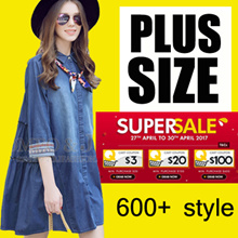 【29/4】600+ style S-7XL NEW PLUS SIZE FASHION LADY DRESS OL work dress blouse TOP