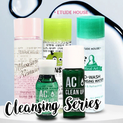 ETUDE HOUSE Travel Size Cleansing Series Deals for only Rp18.500 instead of Rp18.500