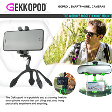 [Christmas gifts Ideas ] GEKKOPOD Smartphone / GoPro / Camera Mount  Grip  World Most Flexible Mount