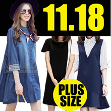 【11.18】QXPRESS 2017 NEW PLUS SIZE FASHION LADY DRESS blouse TOP PANTS skirt