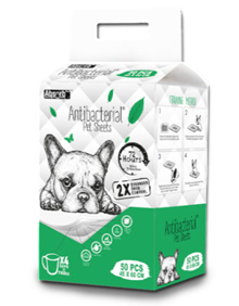 Absorb Plus Anti Bacterial Pet Sheets (3 Sizes)
