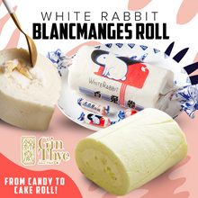 [NEW Packing] HOT SALE ▶Childhood Memory◀White Rabbit Blancmanges Roll 400G*