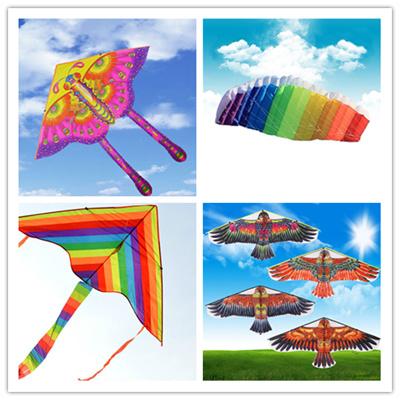 golden eagle kite with handle line kite games bird kite weifang chinese kite