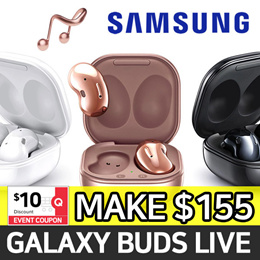 [SAMSUNG] 2020 New Galaxy Buds Live ★ Active Noise Cancellation Bluetooth EarBuds / SM-R180
