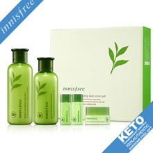 [innisfree]green tea balancing special skin care set/skin lotion cream