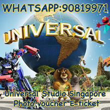 Universal Studio Singapore photo voucher e-ticket