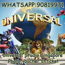 Universal Studio Singapore photo voucher e-ticket