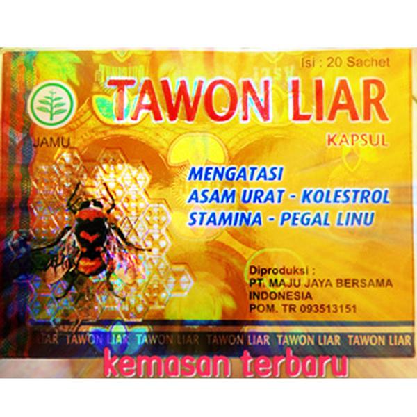 Jamu-TAWON LIAR ~ Mengatasi ASAM URAT / KOLESTEROL / STAMINA / PEGAL LINU ~