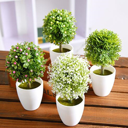 / Artificial plants / Artificial flower / Potted plant /Mini simulation plant artificial flower pott