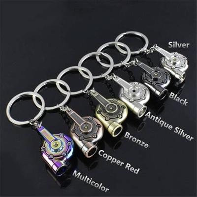 Hot Sale Auto Car Whistle Sound Turbo Keychain Key Chain Ring Keyfob