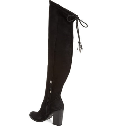 fd1d288bda0 Qoo10 - DOLCE VITA Chance Over the Knee Stretch Boot   Shoes
