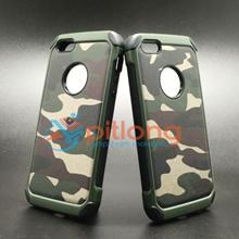 IPHONE 5 5S SE Army Camo Camouflage Hybrid Armor Case