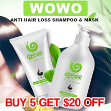BEWARE FAKE SELLERS!! - WOWO SHAMPOO/MASK ♥ ANTI HAIR LOSS SHAMPOO ♥ PURE GINGER SHAMPOO