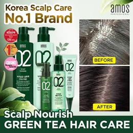[Amos Professional] Green Tea Shampoo / Scalp Nourish / Hair Loss Prevention