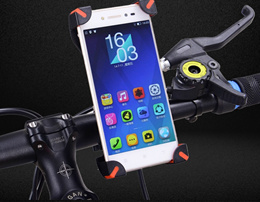 360 Degree Rotating Mobile Phone Bike Bicycle Mount Phone Holder / Mobile Phone Stand / GPS Smart Stand / Car Accessories / Mobile Phone Stand Holder/ Handphone Holder