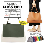 【FREE QXPRESS】【Premium Quality】★ Korean Lady Bag  Buckle Bag Tote Bag Shoulder Bag 2017 Hot Selling