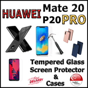 ✪Huawei Mate 20∎P20 Pro✪ Cases / Tempered Glass Screen Protector - Local SG Seller