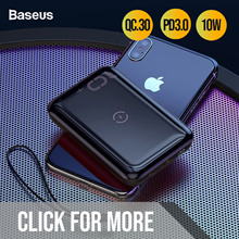 Baseus 30000/20000/10000mAh Wireless Charging Power Bank Quick Charge 3.0 Type C Power Delivery