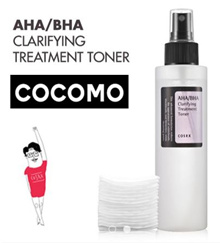♥24h-48h LOCAL DELIVERY♥AHA/BHA CLARIFYING TREATMENT TONER♥