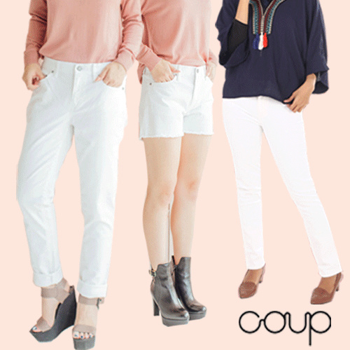 [COUP S4] WOMEN DENIM LONG/SHORT PANTS Deals for only Rp35.000 instead of Rp74.468