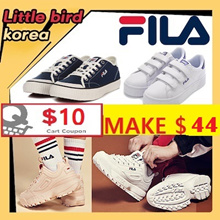 [FILA] MAKE $44 / Best Fila Korea Shoes/DISRUPTOR/RAY/SLIDER/DRIFTER/100%authentic /Velcro shoes /Classic Kicks