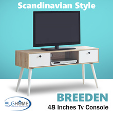 Breeden Scandinavian 48 inches TV Console/TV Cabinet