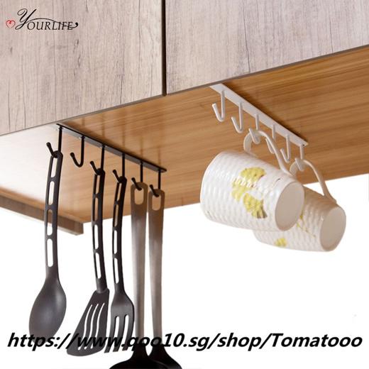 Oyourlife 1pc Creative Kitchen Cupboard, Kitchen Cupboard Hanging Shelf