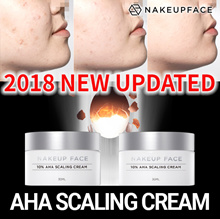 ☆2018 Renewal!!!!!☆[Nakeup Face] AHA Scaling Cream 10%/Come Back with Updating/exfoliating/whiteng
