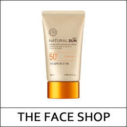 [THEFACESHOP] ★Big Sale★ Natural Sun Eco Power Long Lasting Sun Cream 50ml
