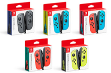 Nintendo Switch Joy-Con Controllers - Neon Blue / Neon Red | Grey | Yellow |  Neon Green / Neon Pink