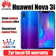 [LOWEST] Huawei Nova 3i 128GB | 4GB (Black/Purple) | 2 Year Huawei SG Local Warranty