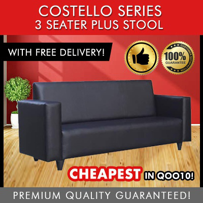 [Furniture Specialist] Costello Series 3 Seater Option + Stool / 3 Seater /  2