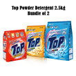 [[bundle of 2]] Top Powder Detergent Malaysia Stock 2.3/2.5kg *3type