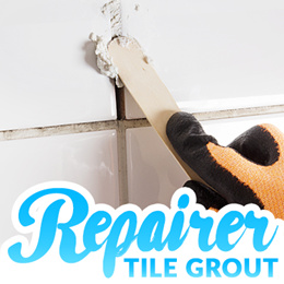 ★150g Self Repair Holes In Tile Grout★[Made in Korea] Grout Joints Between Tiles Using a Wood Stick!