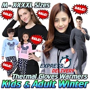 Sale★ Wool Winter Travel Shawl Socks★Kids Thermal Wear ★Gloves Beanie★Neck Warmer★Express Shpg