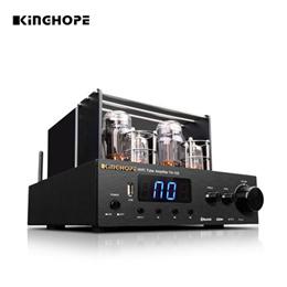 KINGHOPE TH-102 HIFI 진공관앰프 /  블루투스 4.0 무선연결 / 킹홉 80년 전통 풍부하고 우장한 하이파이 사운드 진공관앰프 / 무료배송 정품보장