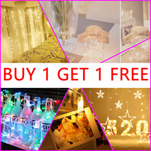 ★Today Grand Sale★ BUY 1 GET 1 FREE★ Led Fairy Lights ★ Battery Operate Xmas Party Wedding Decoratio