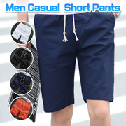 Mens Slim Summer Short Pants Trousers Men Casual Shorts