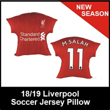 18/19 Liverpool Home Soccer Gift Jersey Pillow Car Cushion