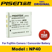 100% Original PISEN Digital Camera Battery NP-40 Fujifilm FinePix Z2 F460 Z5fd J50 F470 Zoom F470 JX200 F480 Zoom F480 F811 F710 F610 Zoom Battery 1 Year Warranty