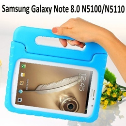 Soft EVA Foam Kids Child Proof Kickstand Handle Case Cover for Samsung Galaxy Note 8.0 N5100 N5110