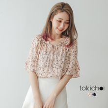 TOKICHOI - Floral Off Shoulder Top-181468