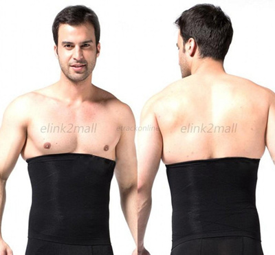 2e6761dfc55af Mens Slimming Tummy Belly Waist Girdle Body Shaper Cincher Corset Bodysuit Underwear  Shapewear New