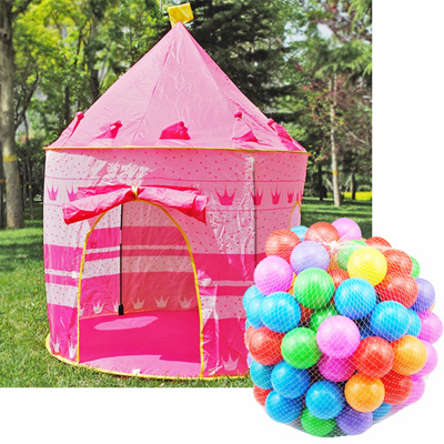 half off a7cf0 32d15 100pcs Ocean Ball Play Tent House for Kid Cubby House Sport Ball Pool for  Children Toys Beach ToyTen