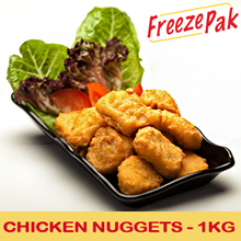 [FREEZEPAK] Chicken Nugget 1kg Bulk Pack. approx. 42 pcs. Halal. (Frozen)