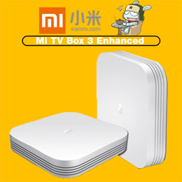 Xiaomi Mi TV Box 3 Enhanced Edition [White]