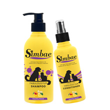 Natural Premium SIMBAE Fabulous Fur Dog Cat Scented Shampoo and Conditioner Spray (+FREE DELIVERY)